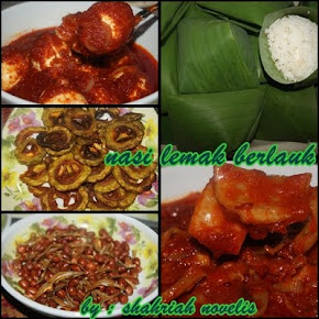NASI LEMAK BERLAUK