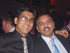 Ijjath Ullah and Babar Salim of Café Spice Namasté