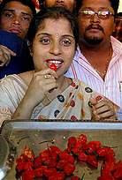Anandita Dutta Tamuly - chilli muncher extraordinaire