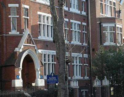 My former school - Raine's Foundation in Tower Hamlets