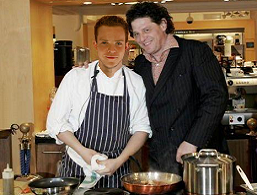 Marco Pierre White introduces me to his kitchen