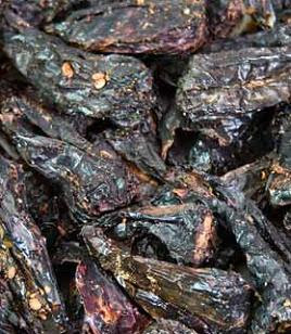 Assorted dried chillies