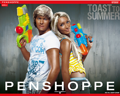 "Globe Broadband Tattoo · Penshoppe ""Toast To Summer"" campaign (Summer 2009)"