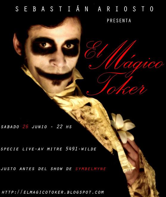 El Mágico Toker en Specie - Sabado 26 de Junio