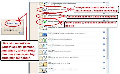click gadget @ tambah alat