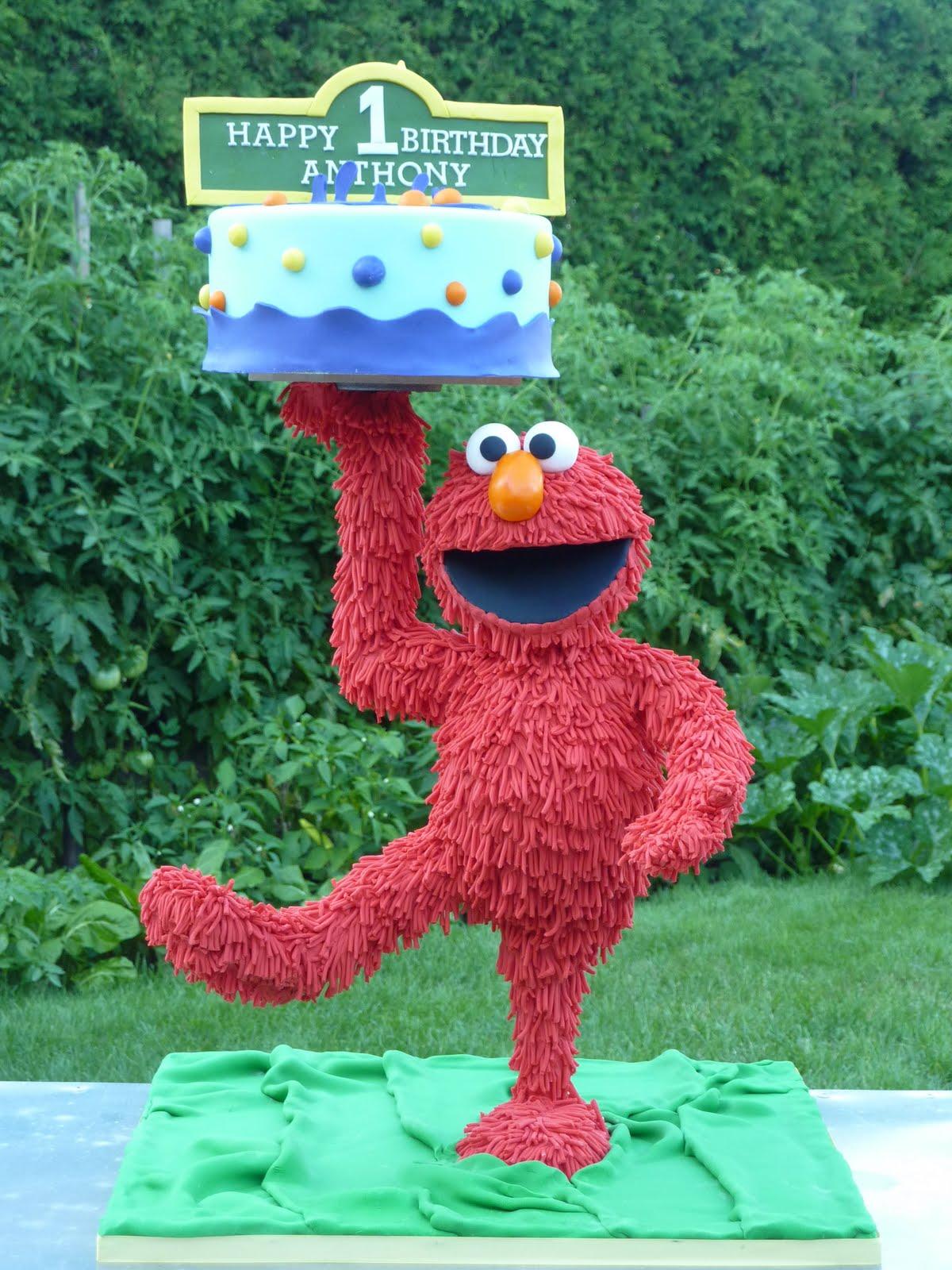 JAdore Cakes Co Elmo Cake in 3D