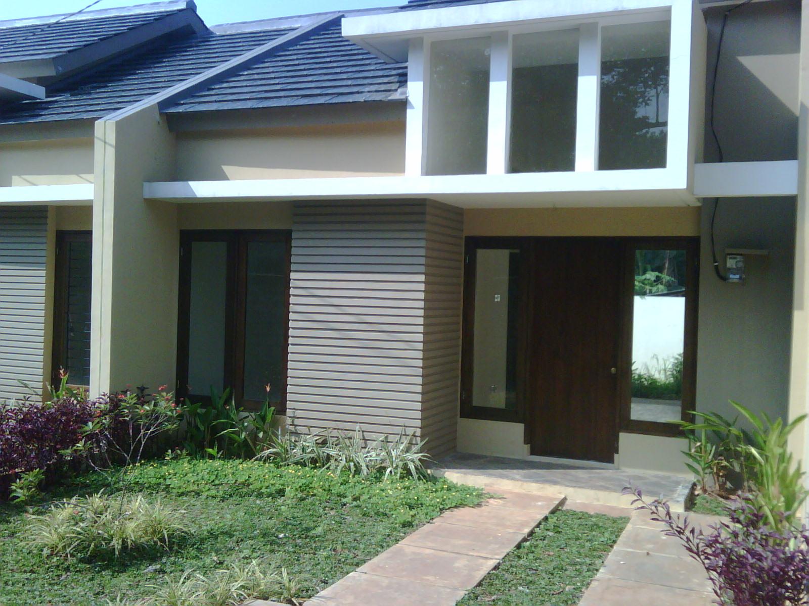 rumah sudah selesai rumah cantik sederhana
