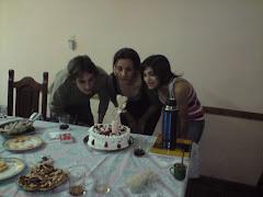 Festejo de cumples de Lisandro, Susana y Noelia