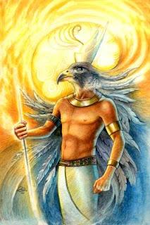 deuses do egito antigo hÓrus