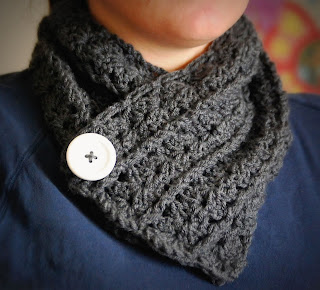 Pardon my Chaos: Crochet Neck Warmer...Cowl whatever...