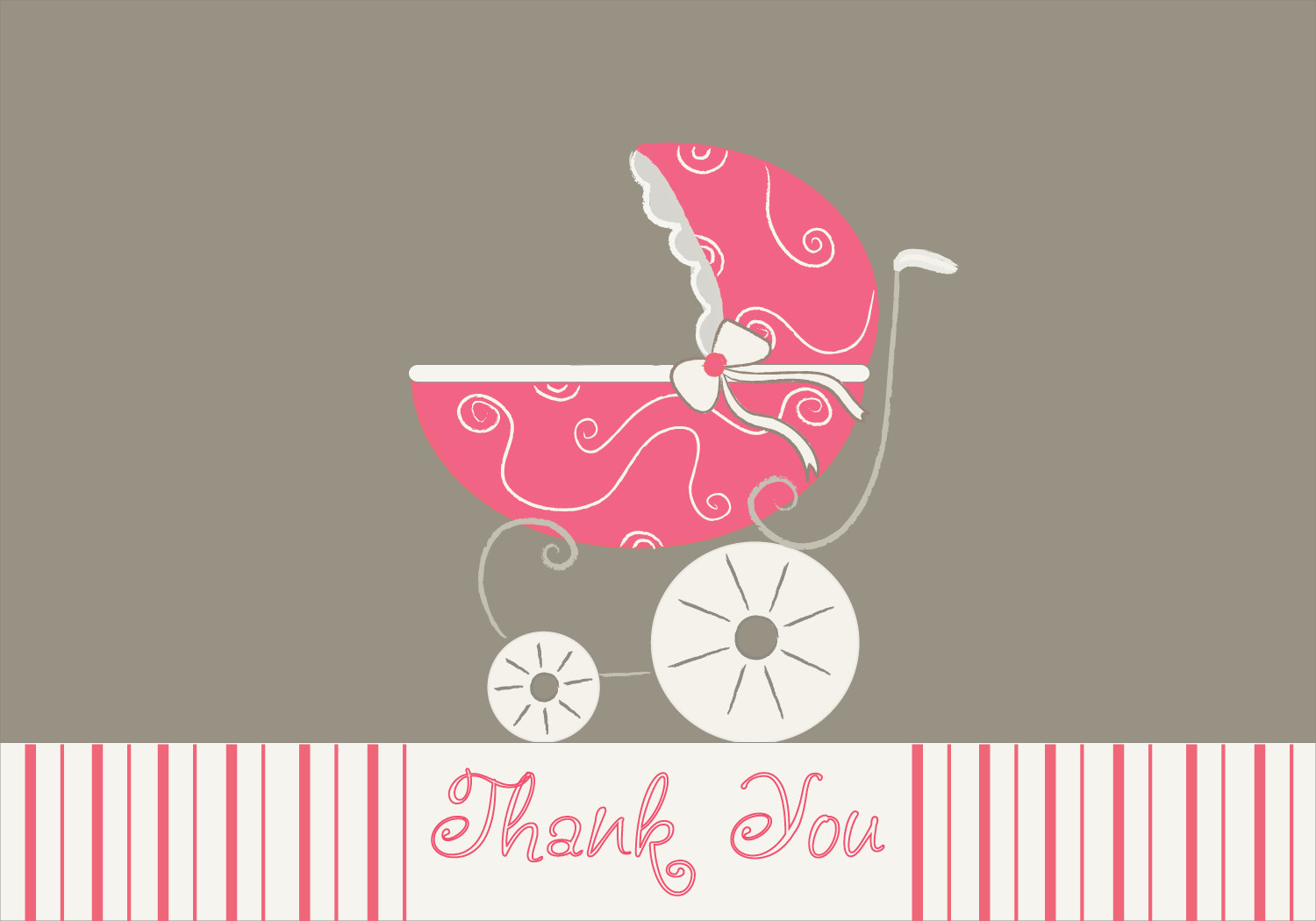 www.tamagrams.com: Baby Stroller Coordinating Notes and Invites