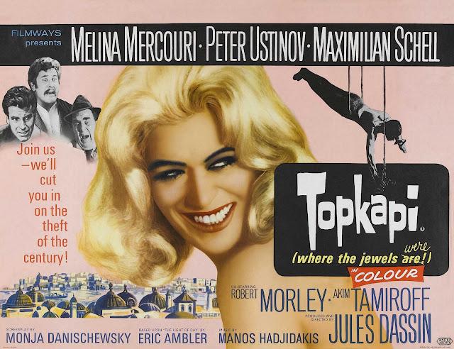 Las ultimas peliculas que has visto - Página 38 Topkapi+cartel