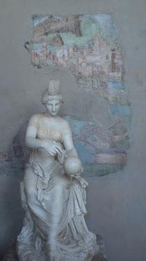 affresco e scultura romana