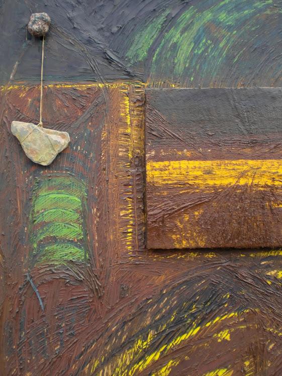 africa, tela,olio,pietra,spago