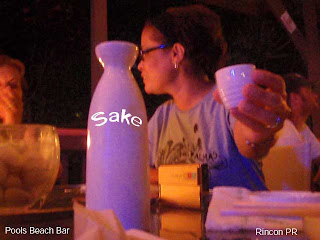 Sake anyone?