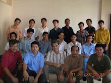 Teachers and students Batangas campus 2nd sem. 2007