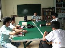 Wilbert A.Tupas teaches Pentateuch Class.Cavite campus