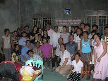 Teachers and students Start New Congregation. San Juan,Batangas