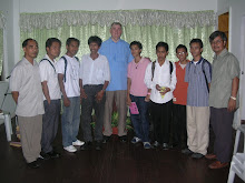 STUDENTS AND TEACHERS WITH PAUL WHITEHEAD