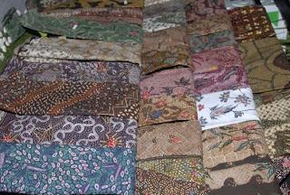 Batik from Madura Island, Indonesia handicrafts