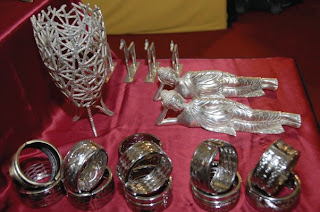 Metal handicrafts from Jombang east Java island, Indonesia