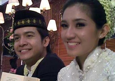 Dimas Seto menikah Dhini Aminarti