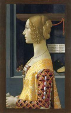 Retrato de Giovana Tornabuoni 1489-1490