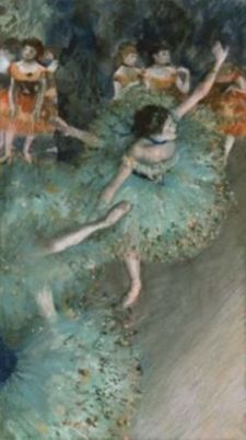 Bailarina basculando. 1877-1879