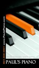 Paul's Piano website