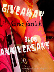 giveaway - blog Anniversary