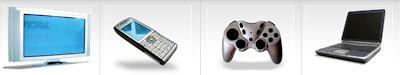 Televisión, Telefonía, Videoconsola y Ordenador