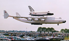 Antonov 225 transportando la lanzadera soviética Buran