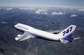 Boeing 747-400ER.