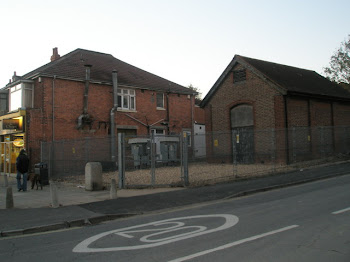 When we were kids we could not see this building on the coner of Drayton Lane