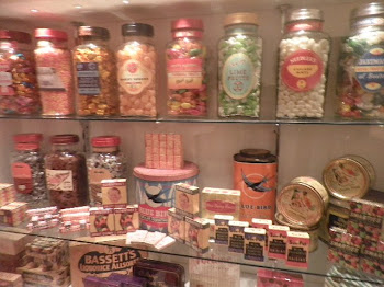 Just like a kid in a sweet shop