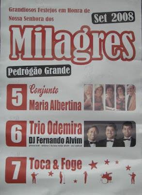 Festa Nª Srª dos Milagres