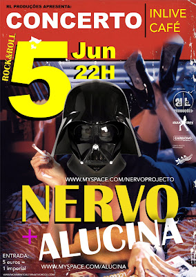 Nervo + Alucina 5 Junho 2010 @ In Live Caffé