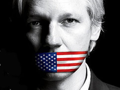 Julian Assange pormenor da revista Time
