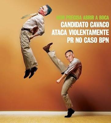 Candidato Cavaco ataca violentamente Presidente da Republica no caso BPN
