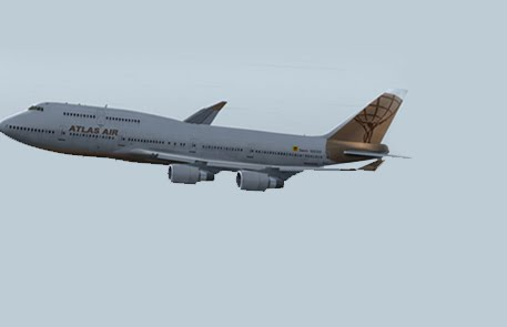 PMDG 747-400 Atlas/Sonair FS9