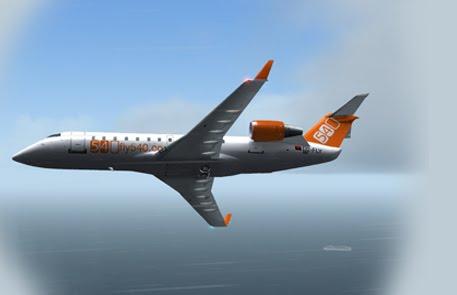 Wilco CRJ-200 fly540 angola
