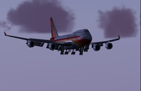 PMDG 747-400 texture Taag FS9