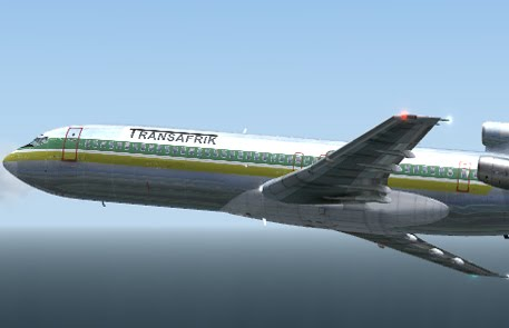 DreamFleet B727-200 Transafrik FS9