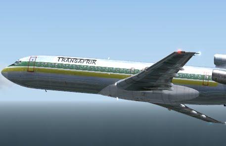 DreamFleet B727-200 Transafrik FS9