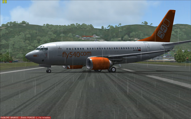 Wilco B737-500 Fly540 Angola FS9&amp;FSX
