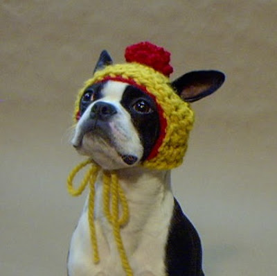 My Vintage Charms: Please can I have a Boston Terrier?