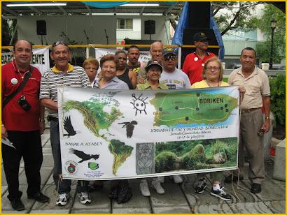 Boriken Saluda  a  los  Mapuches