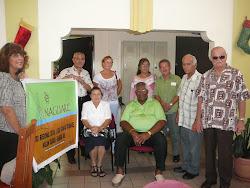Los  Aracoeles con el  Hon. Alcalde
