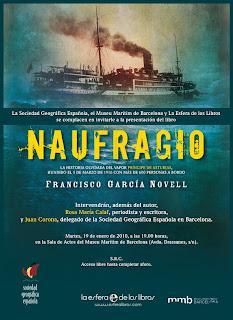Naufragio : la historia olvidada del vapor Príncipe de Asturias