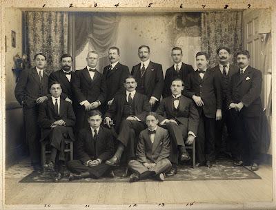 Supervivents del naufragi del Príncipe de Astúrias (1916)